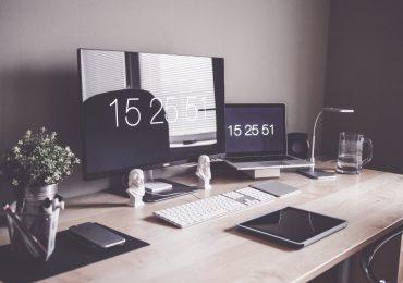 Home Office Workspace Desk