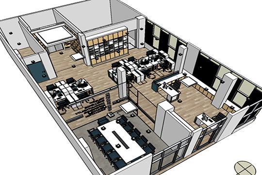 usaha waralaba interior kantor