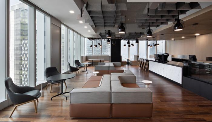 Desain Interior Kantor Terbuka yang Profesional