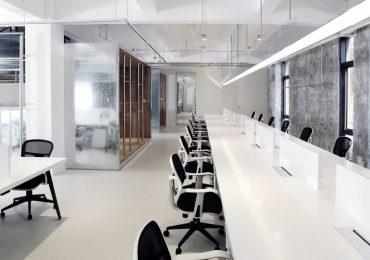 Desain Interior Kantor Minimalis Monokrom