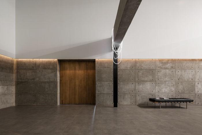 desain ruang kantor sederhana yang minimalis