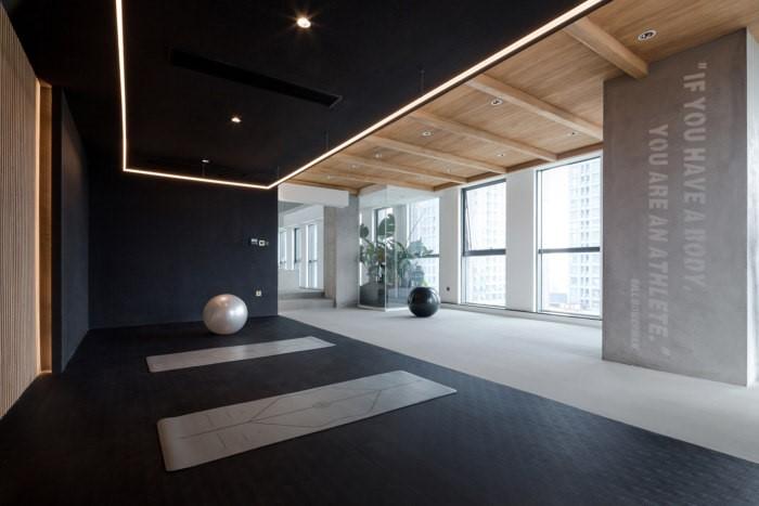 Desain Ruang Kantor Sederhana area terbuka