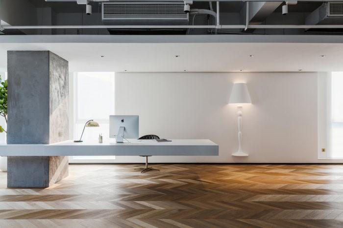 desain ruang kantor sederhana ruang direktur