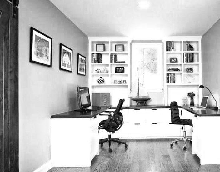 Desain Interior Rumah Kantor Minimalis